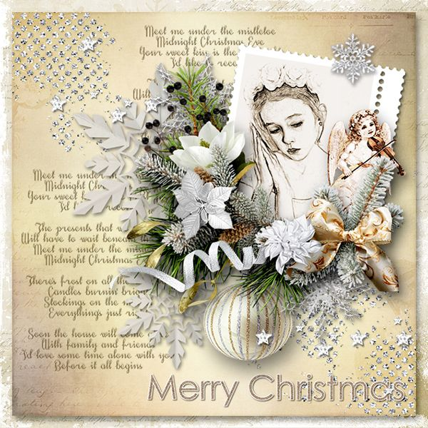 *Meet me under the mistletoe* by Graphic Creations  https://www.e-scapeandscrap.net/boutique/index.php… Photo: Anarud