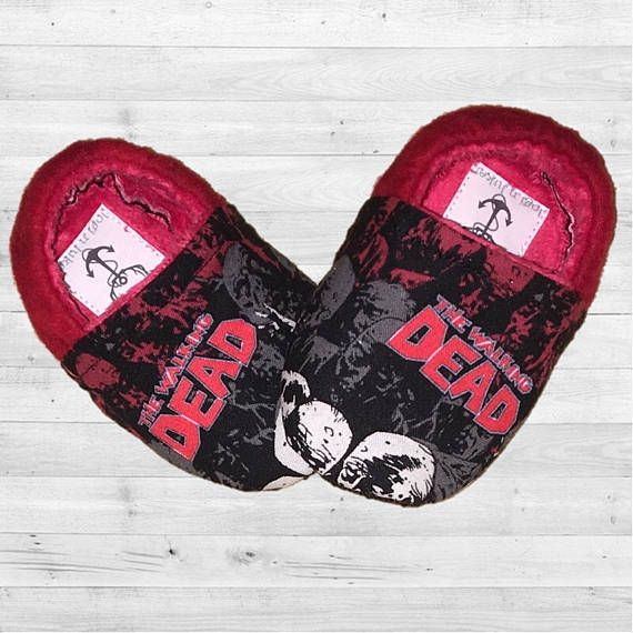 The Walking Dead Baby and Toddler Moccasin Crib Shoes