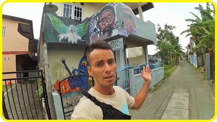 Обзор House of Nasi Bungkus за 5$/ночь | Индонезия, Джокьякарта
