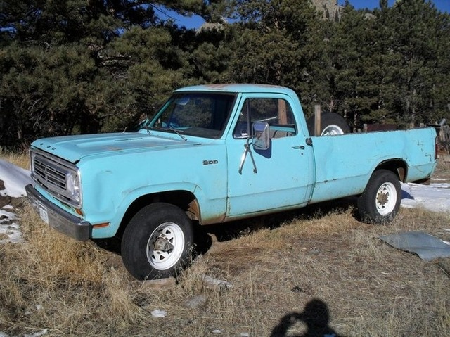 Jeep Truck >> Reduced - 1972 W200 Dodge Power Wagon $2,000 [CO] | 4X4-4SALE | Pinterest | Dodge trucks, 4x4 ...