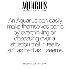 Zodiac Aquarius Facts.