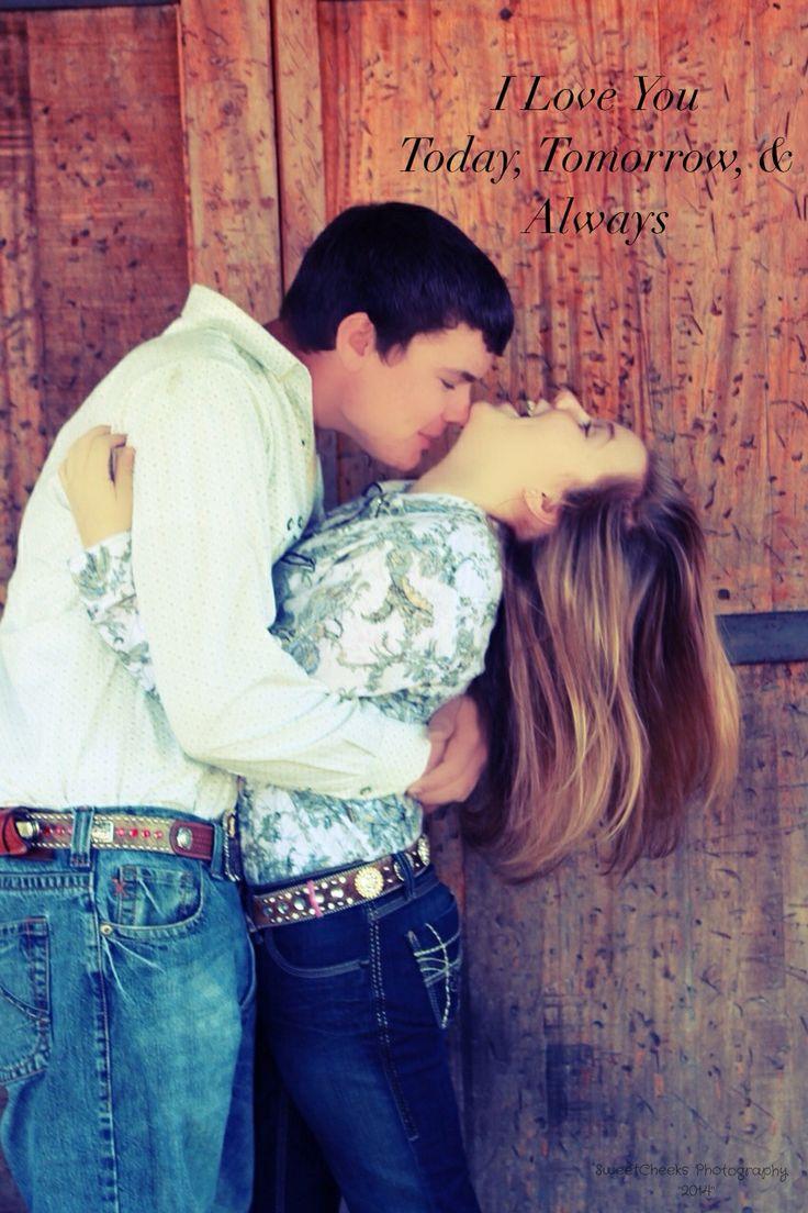 Cute #country #couple pose  #photo idea #photography