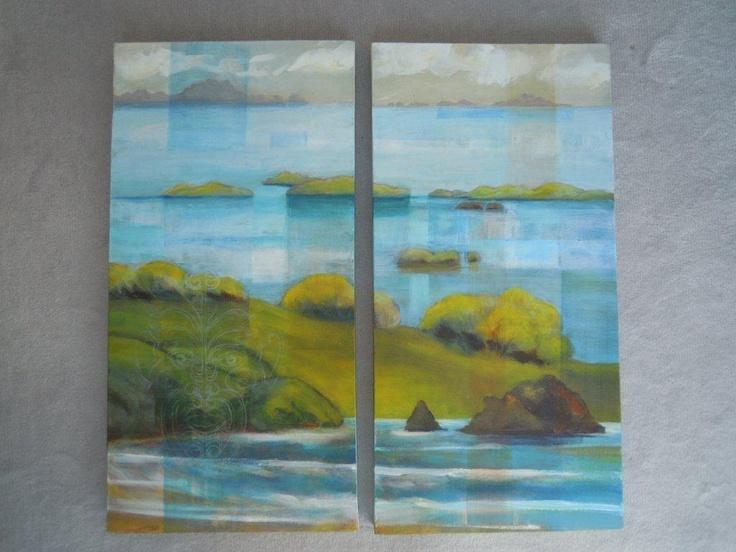 Bay of Islands -Lynley Welsh Artist