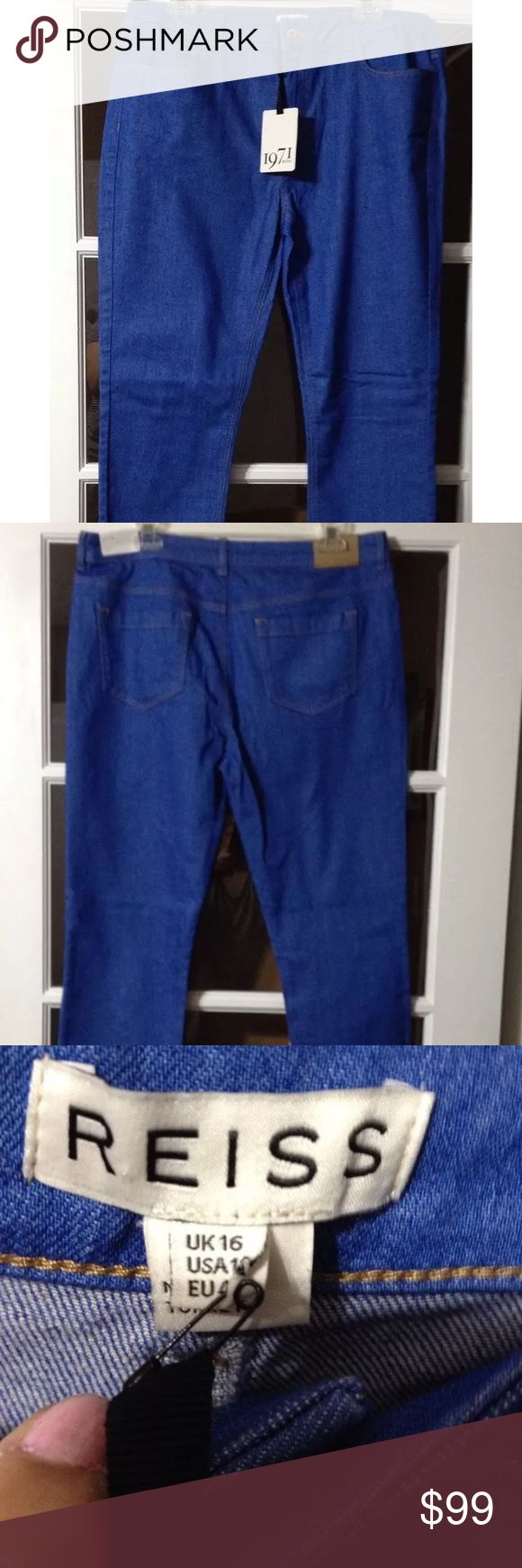 👖1 HR SALE👖REISS Smith Cropped Skinny Jeans Great brand! Great Jeans at an amazing price. NWT Reiss Jeans Skinny