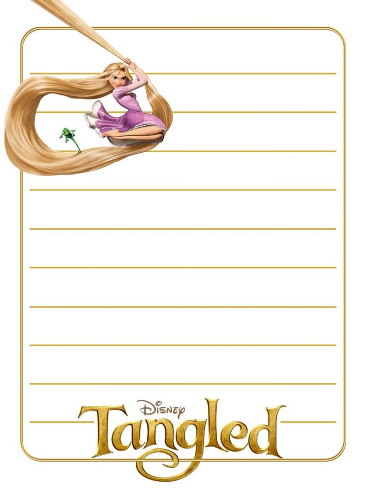 "Tangled - Rapunzel - Project Life Journal Card - Scrapbooking ~~~~~~~~~ Size: 3x4"" @ 300 dpi. This card is **Personal use only - NOT for sale/resale** Logo/clipart belong to Disney. *** Click through to photobucket for more versions of this card ***"