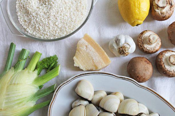 Rezept: Fenchelrisotto & Venusmuscheln