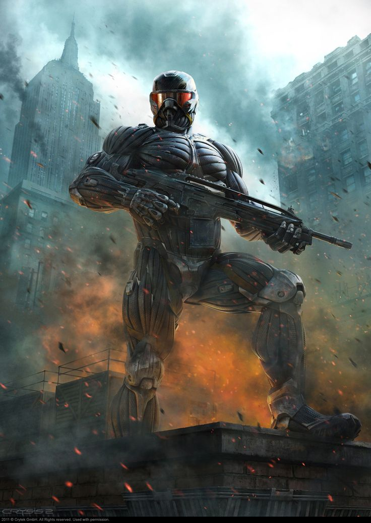 Crysis 2 - Video Games - GeekDraw