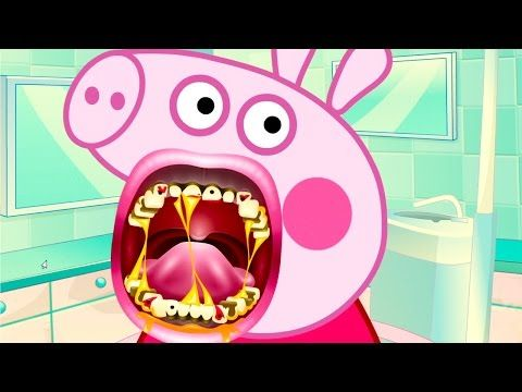 Peppa Pig Full Episodes - Peppa Pig Crazy Dentist | Peppa Pig English Episodes - YouTube