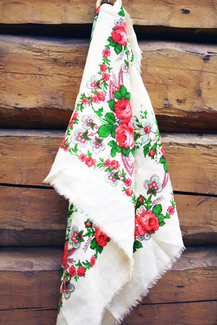 28 best Russian Scarf ♡ images on Pinterest | Shawl, Russian ...