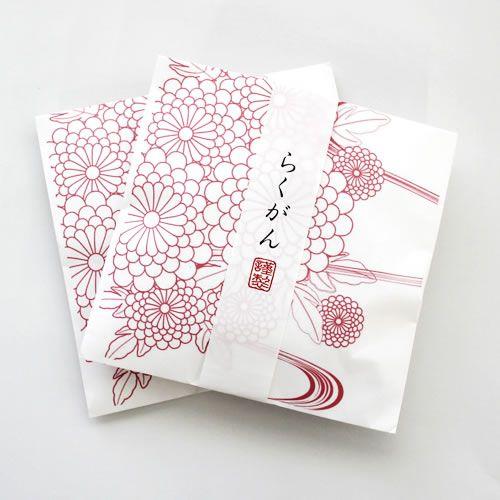 和菓子の和風プチギフト<br />【封筒袋テンプレート】