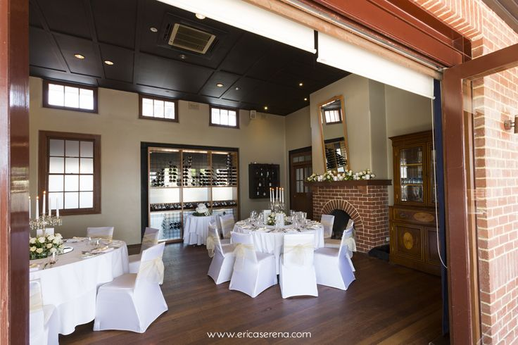 Intimate wedding in the Wine Room
