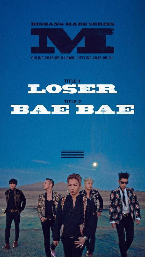 Big Bang announce comeback project, 'MADE SERIES', kicking off with two songs, 'Loser' and 'Bae Bae'! | allkpop