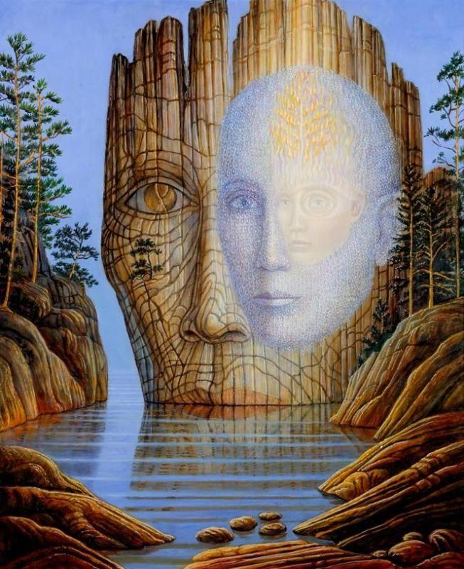 VISIONARY ART | The Mystic Otto Rapp: BRIGID MARLIN - VISIONARY ART GALLERY