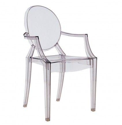 Sedia Louis Ghost di Philippe Starck