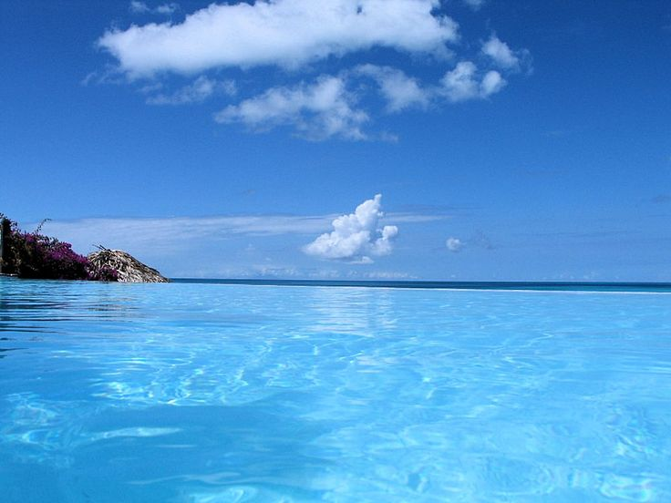 Infinity Pool, Cocobay Resort, Antigua, Kleine Antillen