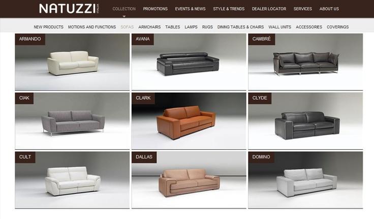Sofas - Natuzzi Group Cardiff & Bristol