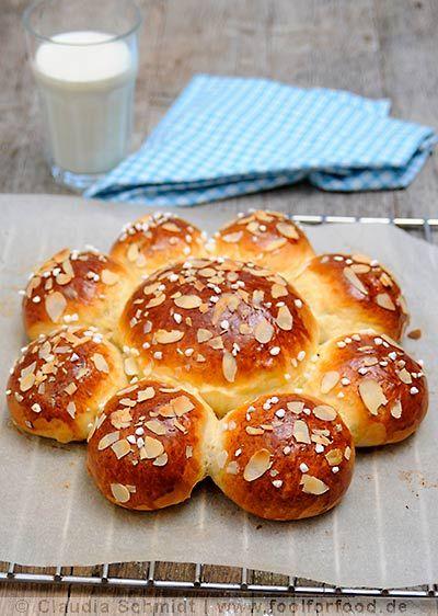 Rezept mit Bild für Dreikönigskuchen - foolforfood.de