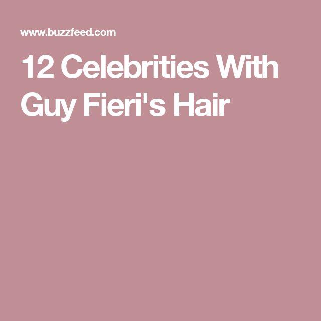 12 Celebrities With Guy Fieri's Hair