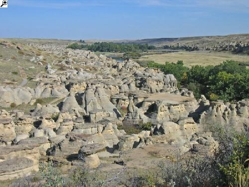 Writing-On-Stone Provincial Park: A new family favorite spot, where this is literally steps away from your camp spot! Endless hours climbing and exploring...
