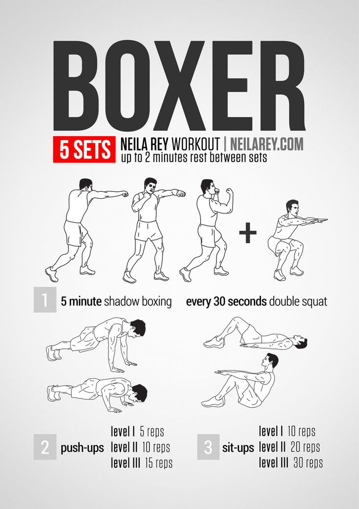 Boxer Workout neilarey.com | #fitness #bodyweight