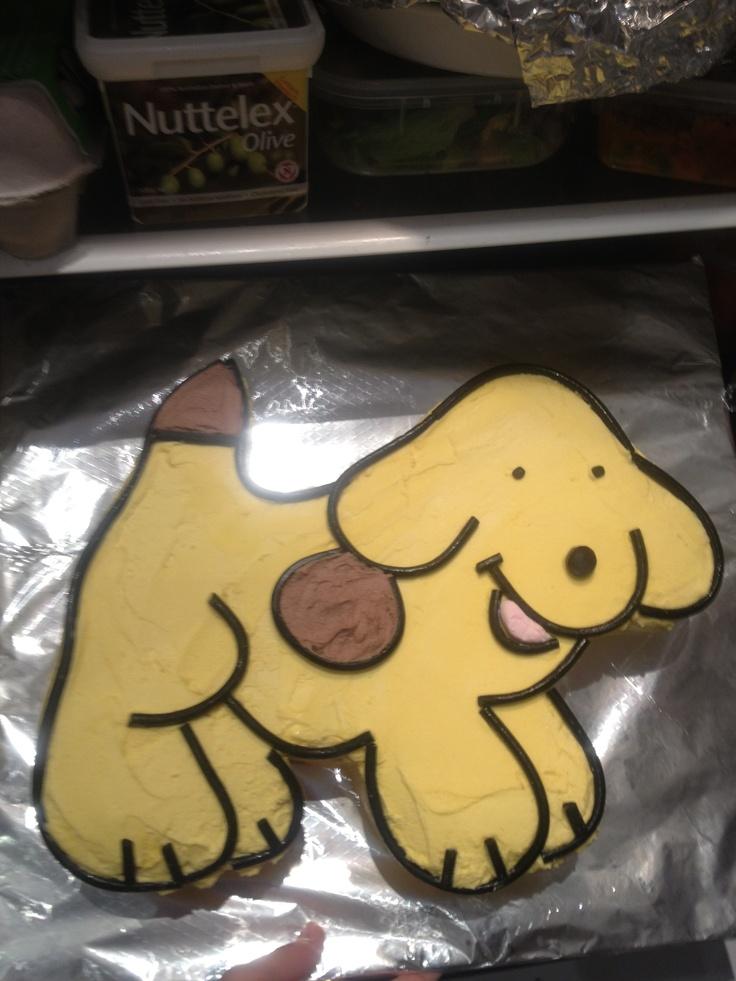 Spot dog cake
