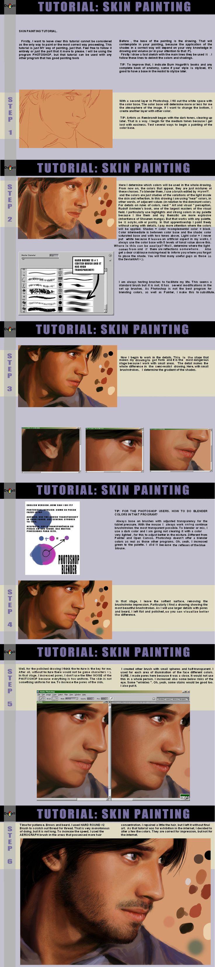 Skin painting tut