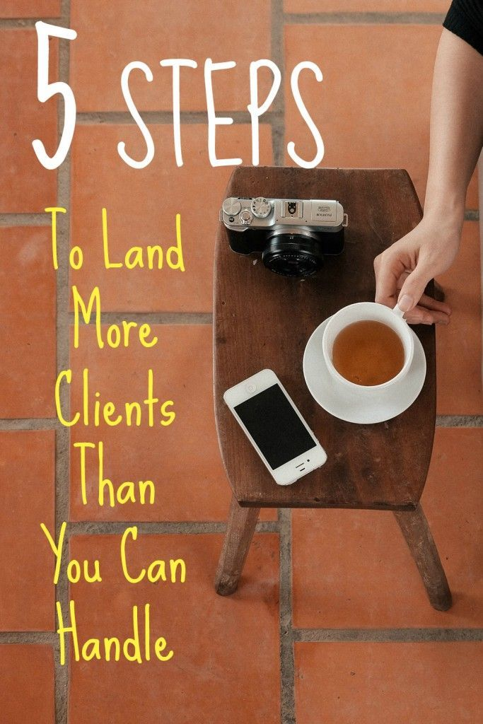 Follow this system to find more customers for your freelance, consulting, or service business. 5 steps to land more clients than you can handle, aka how to find clients to fill your freelance calendar to overflowing, via @sidehustlenation