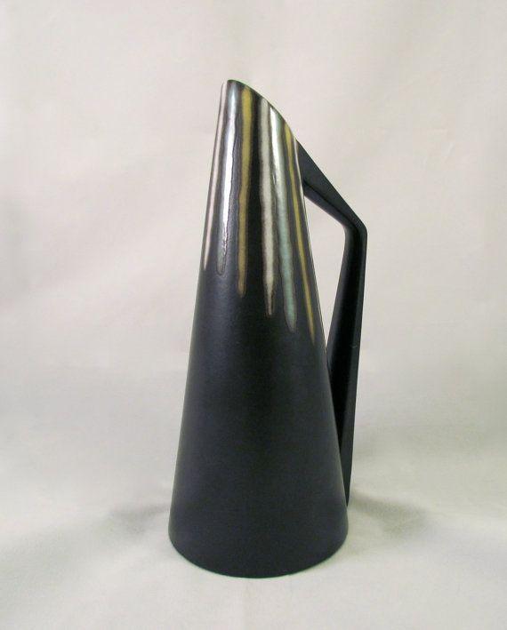 Vintage Midcentury Modern Ceramic Søholm Pitcher by Revolving, $85.00