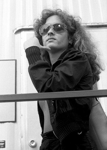 Teena Marie backstage at Funk Fest at the Los Angeles Memorial Coliseum