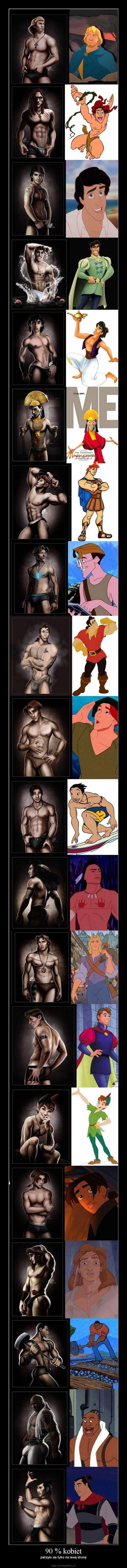 Bahaha sexy disney guys
