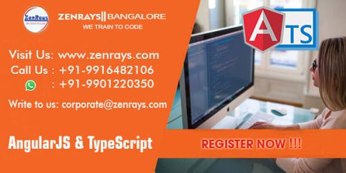 ZenRays offers the best Angular 2 Training in Bangalore. We provide 100% placement assistance. Learn with Hands-On Training. Work on Live Project Write to corporate@zenrays.com Call: +919916482106 | WhatsApp: 9901220350 http://zenrays.com/angularjs-training-in-bangalore