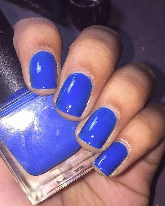 Neon Blue Nail Polish: Best 25+ Neon Blue Nails Ideas On Pinterest