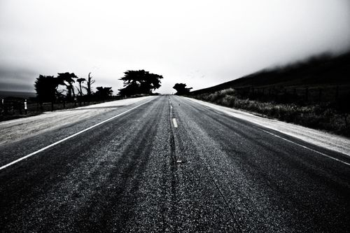 """"""" Nothing behind me, everything ahead of me, as is ever so on the road."""" - Jack Kerouac    (c) JRen Photos https://www.etsy.com/shop/JRenPhotos"""