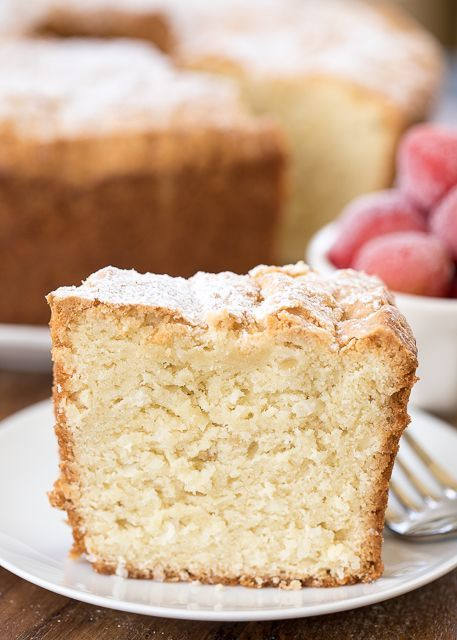 Coconut Cream Cheese Pound Cake (Plain Chicken)