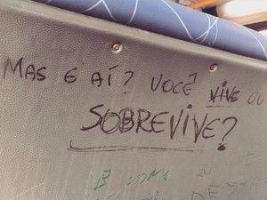 Dizeres podem ser reflexo da rotina da cidade (Foto: Joanna Flora / Arquivo Pessoal)