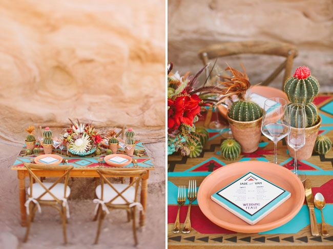 mexican table settings