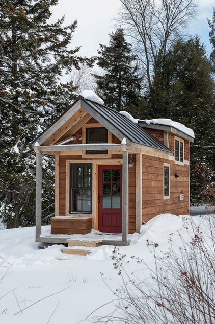 Rustic Exterior by Cushman Design Group