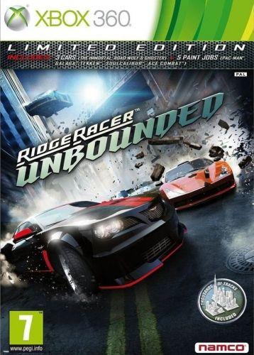 Marka Ridge Racer kojarzy się głównie z automatami do gier oraz tytułami startowymi, demonstrującymi techniczne możliwości kolejnych konsol z rodziny PlayStation. W przypadku Ridge Racer Unbounded wydawca – firma Namco Bandai - postanowił trafić do nieco szerszego kręgu odbiorców. Prace nad grą powierzono doświadczonemu w gatunku samochodówek fińskiemu studiu Bugbear Entertainment, które w dorobku ma m.in. znakomitą serię FlatOut.