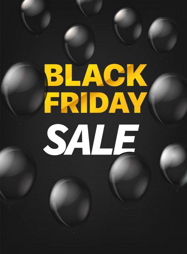 Black Friday Sale Concept Black Friday On Black Background Black Friday Blackfriday Design Black Friday Sale