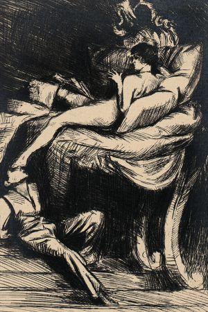 The age-old fairy tale (ideal) II by Bruno Schulz, [ca 1920-1922]. Jagiellońska Biblioteka Cyfrowa, Public Domain