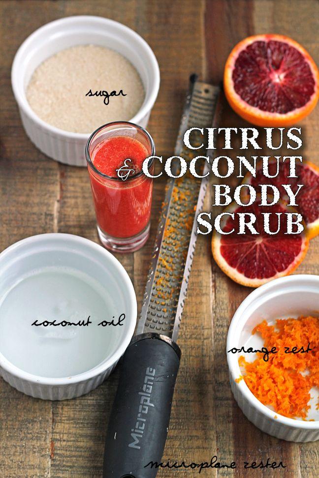 Citrus & Coconut Body Scrub