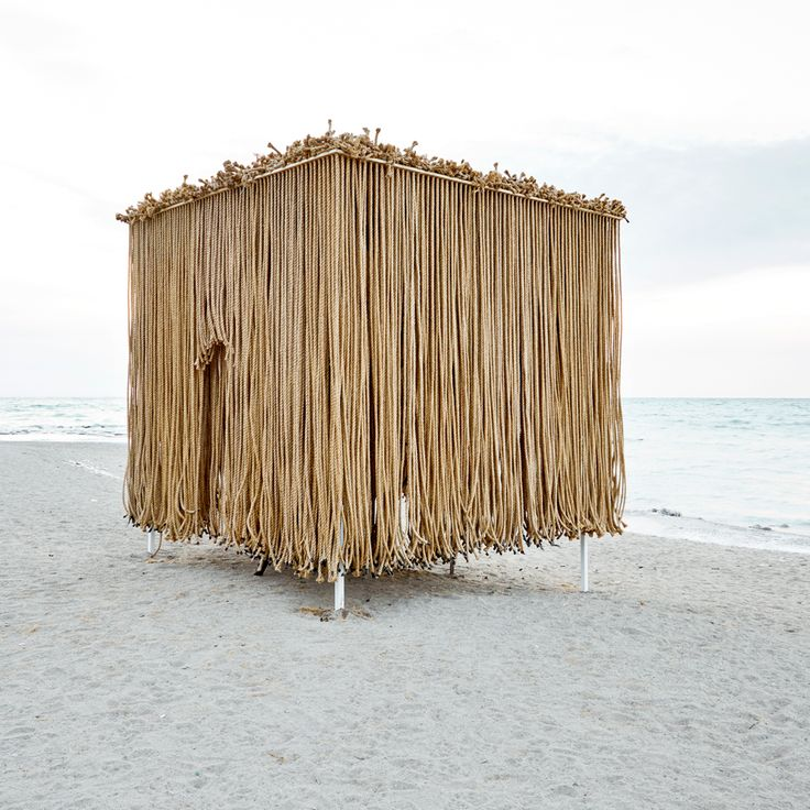 Winter Stations on Canada's Lake Ontario include this porous shelter