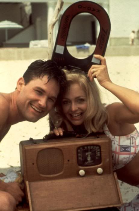 Kurt Russell and Goldie Hawn ~ 1984