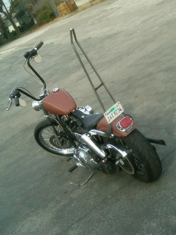 vintage tail light bar