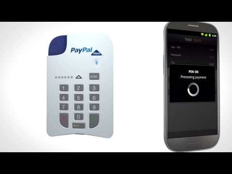 PayPal Here - A Mobile Card Reader for the UK