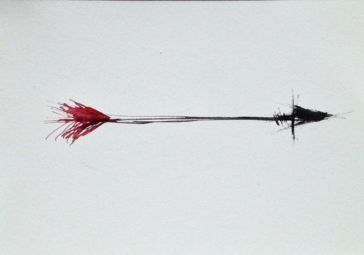The arrow - the direction, the way you take in life