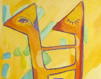 "Check out new work on my @Behance portfolio: ""Sitting giraffe"" http://on.be.net/UHjA37"