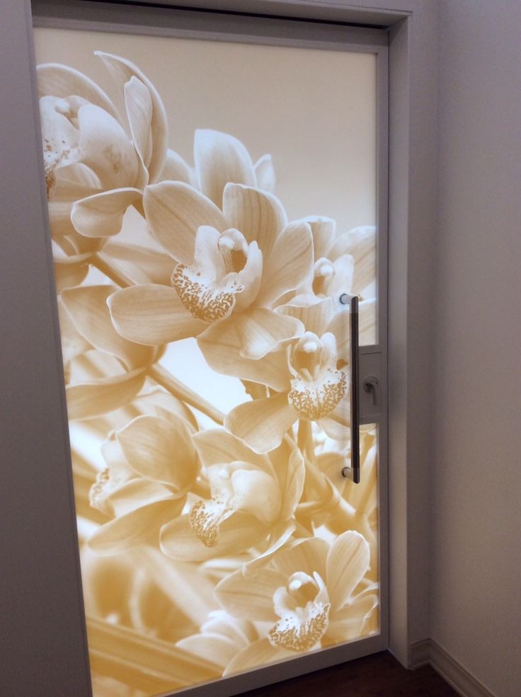 Art On Glass Door By Skyline Design Inspiration