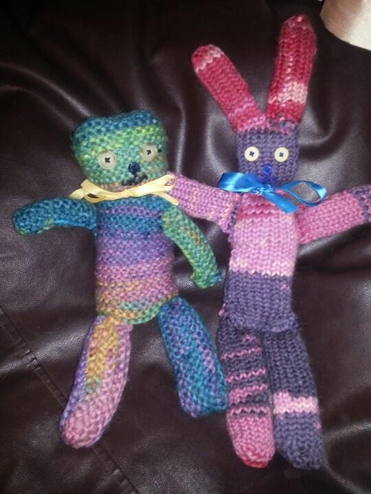 teddy and bunny