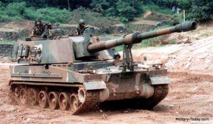 Noruega compra el cañón autopropulsado K9 Thunder a Corea del Sur